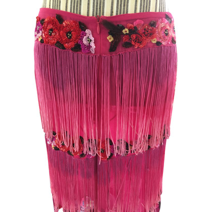 Blumarine Skirt with fringe