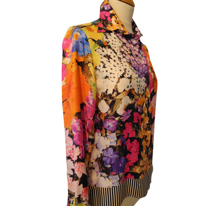 Etro Silk blouse with floral pattern