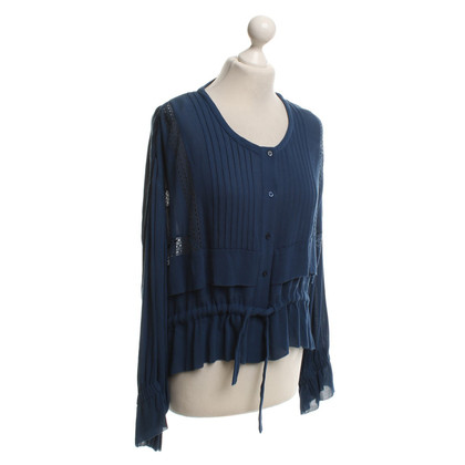 Iro Blouse in blue
