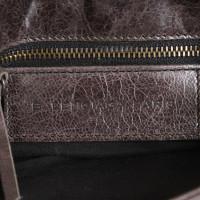 Balenciaga Leder-Clutch