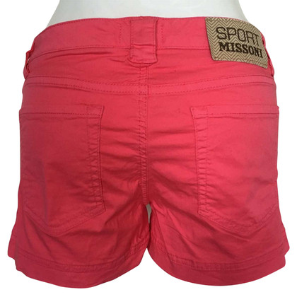 Missoni Shorts in Rot