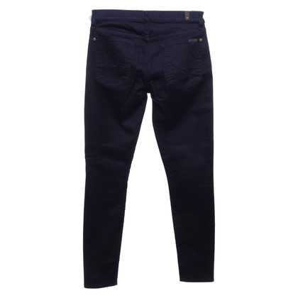 7 For All Mankind Pantalon en bleu foncé