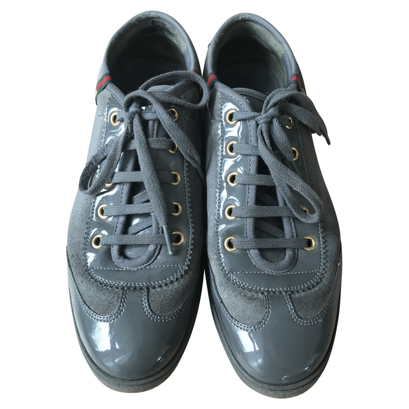 Gucci Trainers in Grey - Second Hand