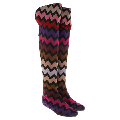 Missoni Boots with zigzag pattern