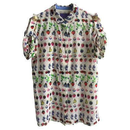 Versace for H&M Short sleeve blouse with patterns