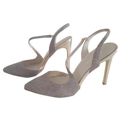 Karen Millen Silver-colored sandals