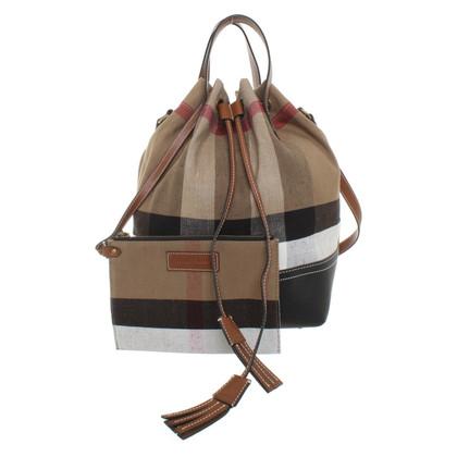 Burberry Shopper with Nova check pattern