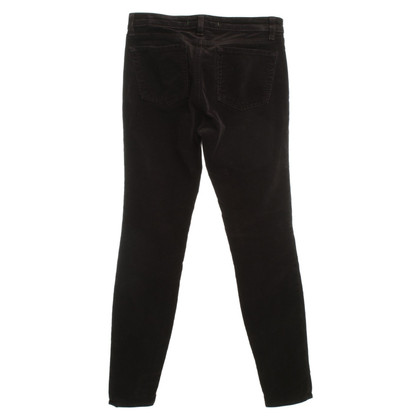 J Brand Corduroy trousers in dark brown