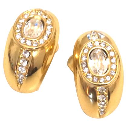 Christian Dior clips d'oreille