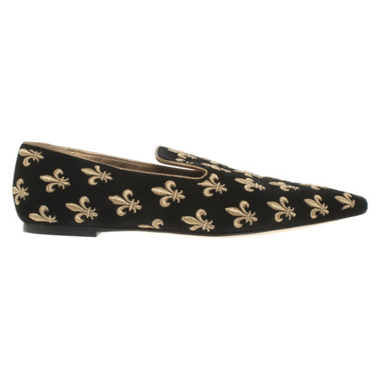 Dolce & Gabbana Pantofole di velluto