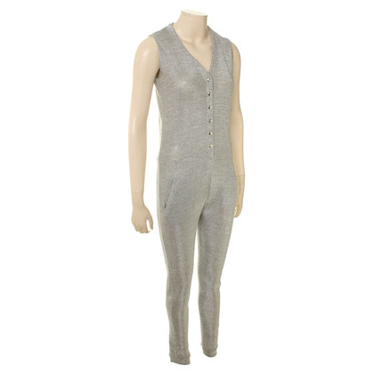 Other Designer Zoe Karssen - jumpsuit in Silver metallic