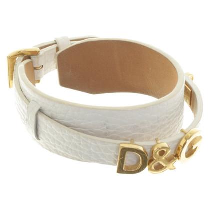 D&G Cinturino in pelle