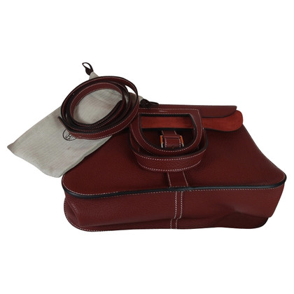 Hermès Halzan bag Rouge H