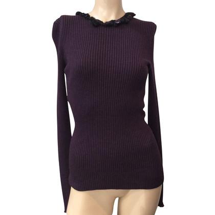 Chanel Longsleeve cashmere / zijde