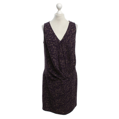 Hoss Intropia Violet colored dress with pattern