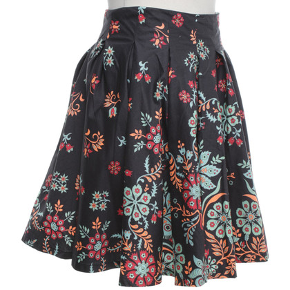 French Connection skirt with floral pattern