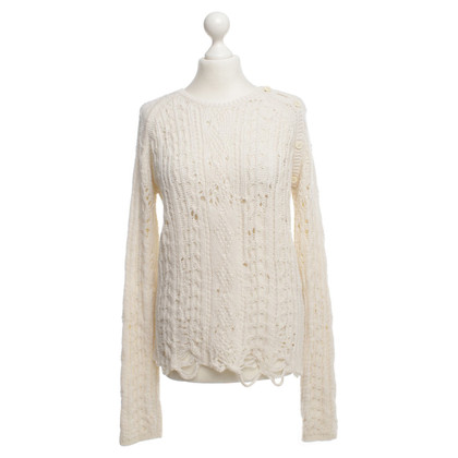 Zadig & Voltaire Sweater in cream white
