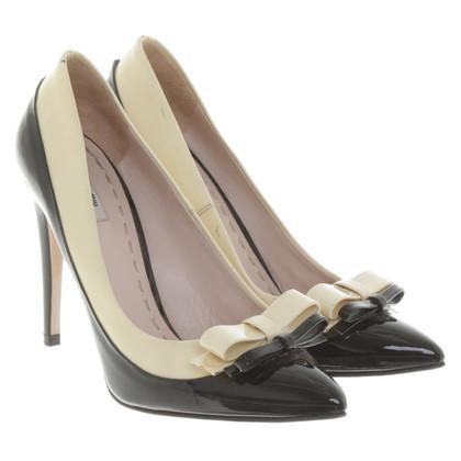 Miu Miu pumps in patent leather