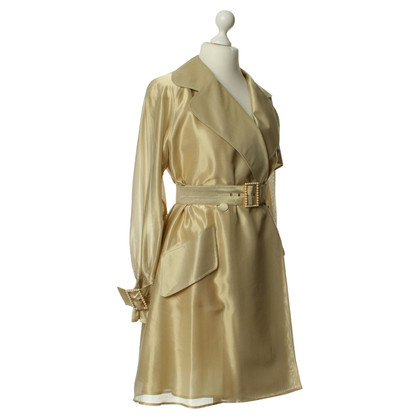 Christian Dior Cappotto color oro