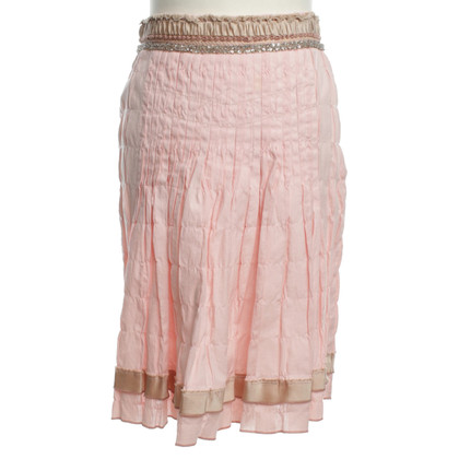Schumacher Pleated skirt in pink