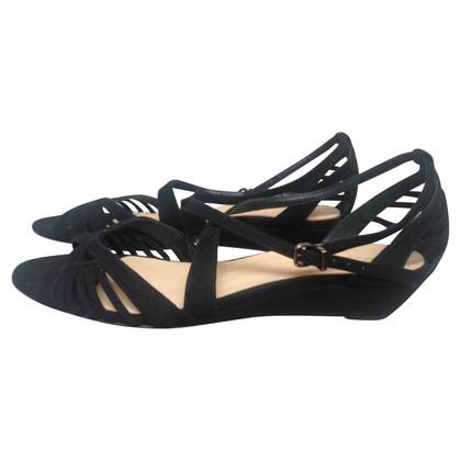 Hoss Intropia Sandalen mit Keilabsatz