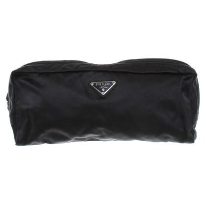 Prada Satin pouch in Black