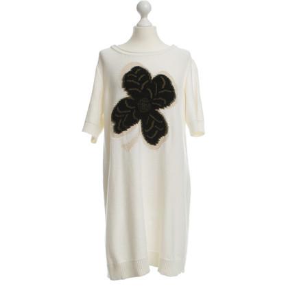 Sonia Rykiel Knit dress with four-leaf clover