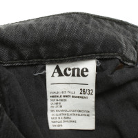 Acne Jeans in donkergrijs