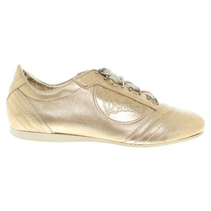 Versace Sneakers in Gold