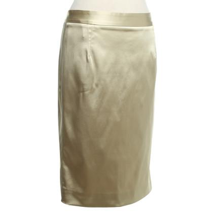 Dolce & Gabbana Satin skirt in beige