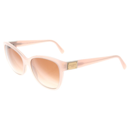 Dolce & Gabbana Sonnenbrille in Rosé