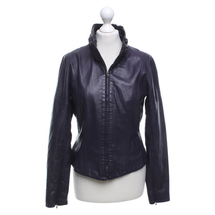 Marc Cain Short jacket made of leather