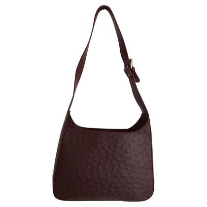 Gucci Handbag made of ostrich leather