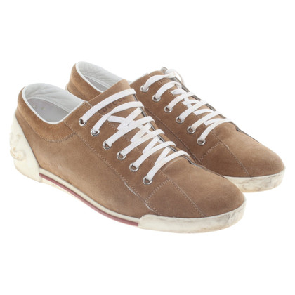 Gucci Brown leather sneakers