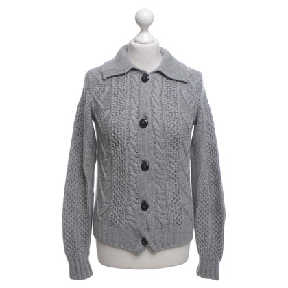 Bruno Manetti Cashmere Sweater in grey