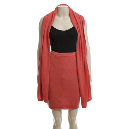 Iris von Arnim skirt & scarf cashmere