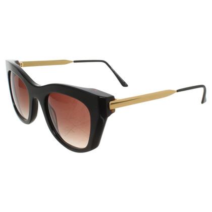 Thierry Lasry Cateye-Sonnenbrille in Schwarz/Gold