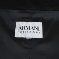 Armani Collezioni Mantel in Schwarz