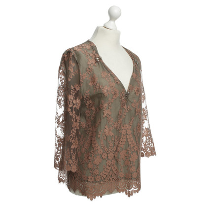 Twin-Set Simona Barbieri Top with lace