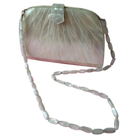 Rabatt Klassisch Gianni Versace Handtasche Beige Visa-Zahlung Online Billig Bester Ort Verkauf Original oYiwqP8X7