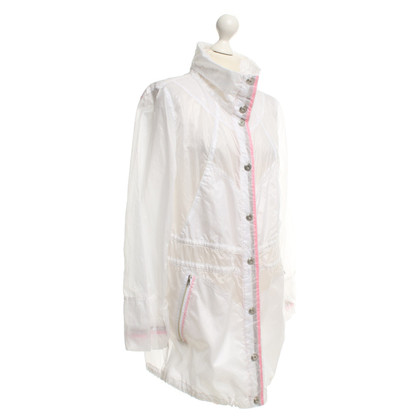 Marc Cain Raincoat in bianco