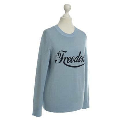Sandro Smoke blue sweater