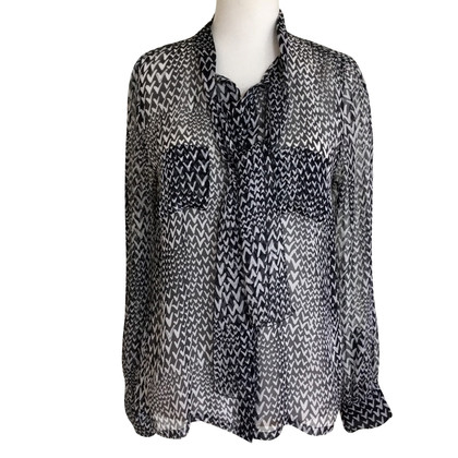 Louis Vuitton Zijden blouse