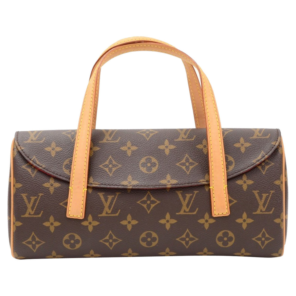 louis vuitton sonatine monogram canvas handtasche second hand louis vuitton sonatine. Black Bedroom Furniture Sets. Home Design Ideas