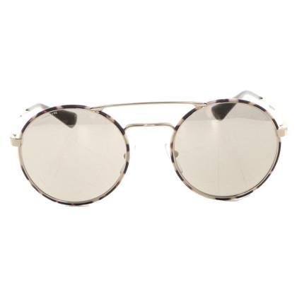 Prada Gouden zonnebril