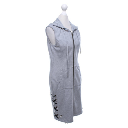 Philipp Plein Long vest in grey