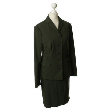 Prada Costume in forest green