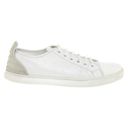 Louis Vuitton chaussures de sport en cuir