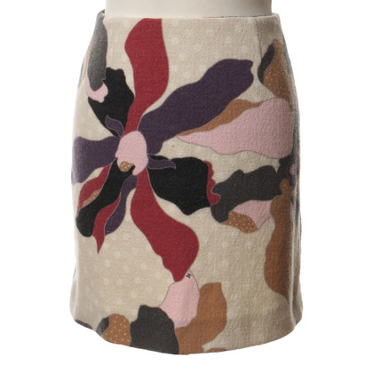 Missoni Patterned skirt beige