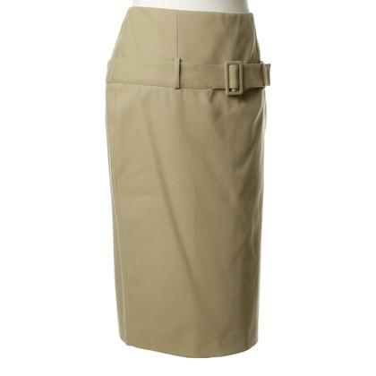 Alexander McQueen skirt beige